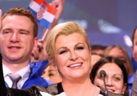 Novoizabranoj Predsjednici RH Kolindi Grabar Kitarović u Kninu 62,44 %, a Ivi Josipoviću 37,56 % glasova