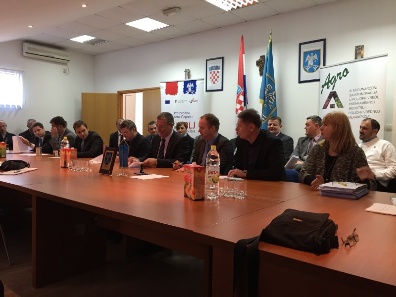 Ugovor o poslovno tehničkoj suradnji gradova Trilja i Knina