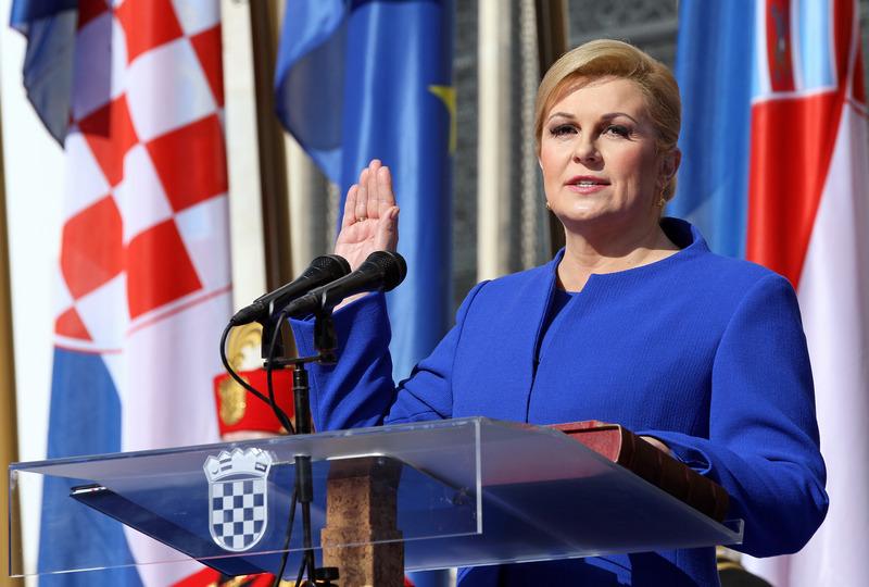 Kolinda Grabar-Kitarović svečano prisegnula za prvu hrvatsku predsjednicu, među uzvanicima i gradonačelnica Josipa Rimac