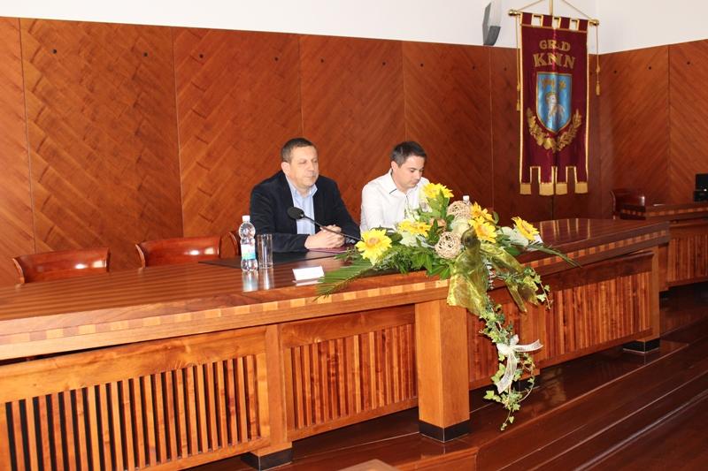 Prva tiskovna konferencija za novinare zamjenika koji obnaša dužnost gradonačelnika