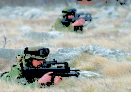 Obavijest o vojnim aktivnostima na poligonu Crvena zemlja za lipanj 2018.