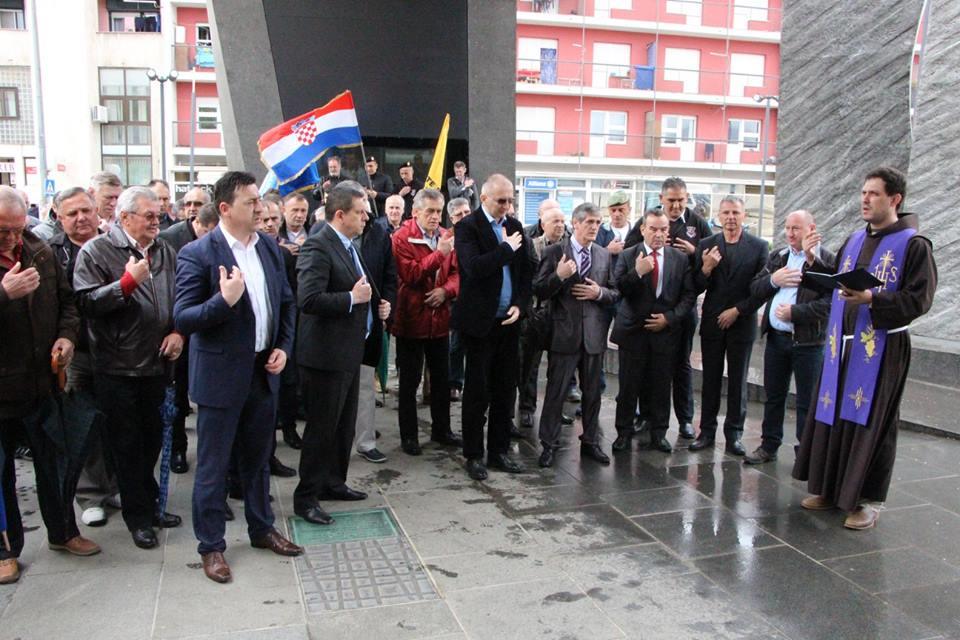 Svečano Obilježena 24. obljetnica HVO-a u Kninu