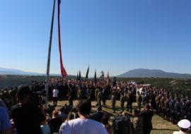 Koncertom Marka Perkovića Thompsona završena je proslava Oluje, a u Kninu je na kraju večeri, prema policijskim procjenama, bilo oko 70 tisuća ljudi