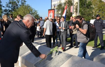 Povodom obilježavanja 25. Spomendana Rujanskog rata održana komemoracija za poginule hrvatske branitelje