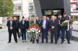 U povodu Dana neovisnosti položeni vijenci kod Spomenika hrvatske pobjede