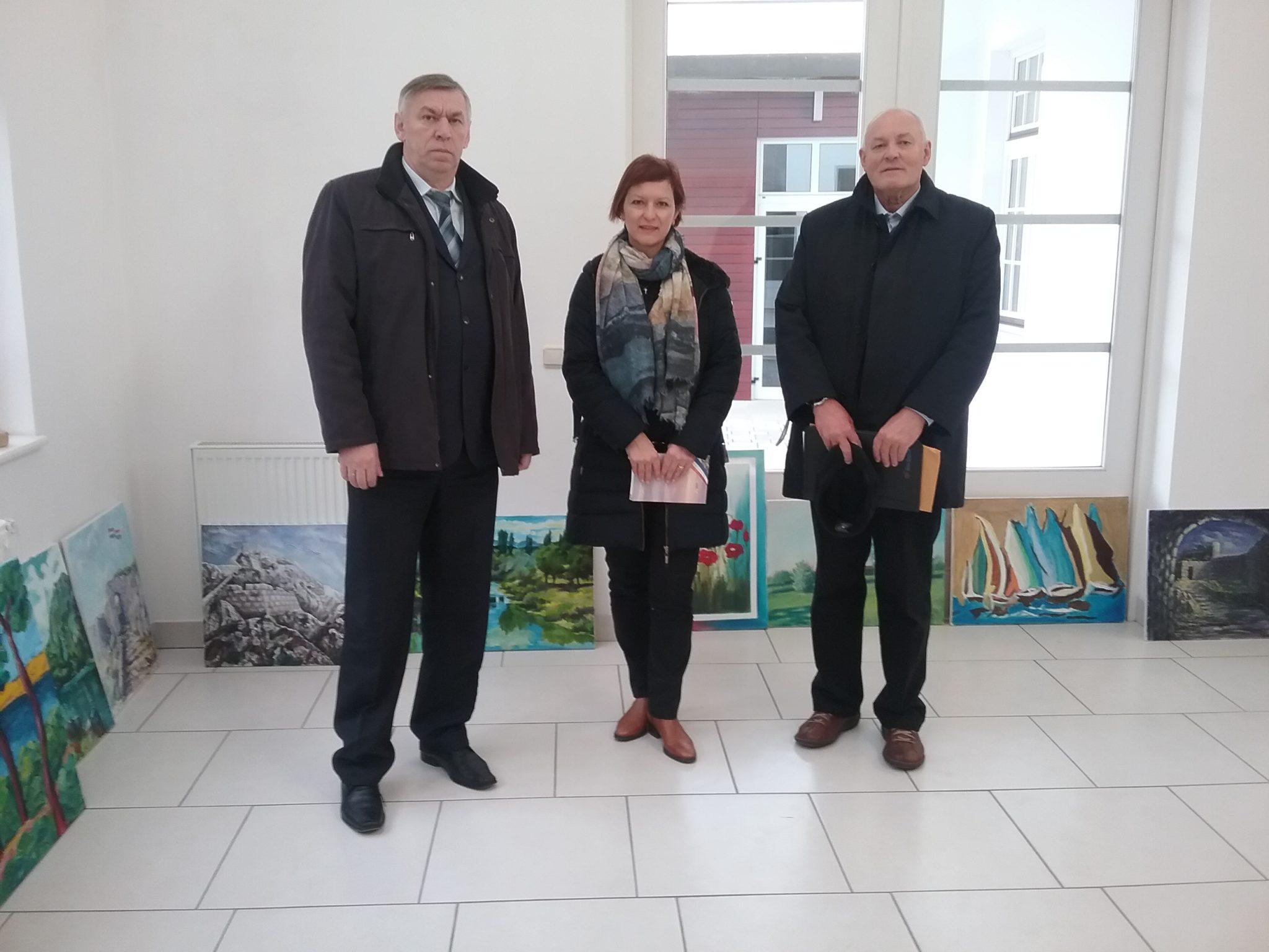 Vrijedna donacija, Knin – Vukovaru za vodotoranj