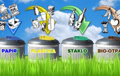 Savjeti za odvajanje otpada za područje grada Knina