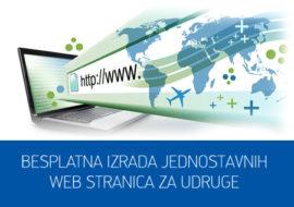 Besplatna izrada web stranica za udruge