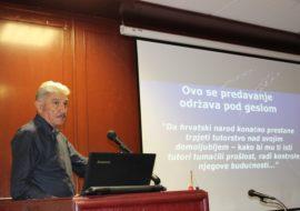 """Admiral Domazet-Lošo održao promociju knjige """"Hrvatska geopolitička strategija u 21. stoljeću ili Hrvatsko njhalo"""""""