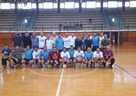 Povodom Dana grada Knina održana je malonogometna utakmica između NK Dinara i MNK Grad Split