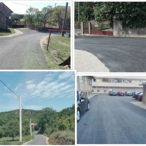 Uređenje i asfaltiranje ulica na području Grada Knina