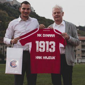 HNK Hajduk i NK Dinara potpisali ugovor o poslovno sportskoj suradnji