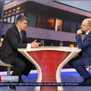 Reakcija na izjavu nastupajućeg Predsjednika Republike Hrvatske